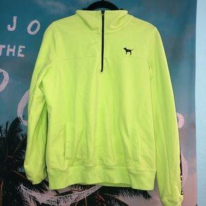 Soft Yellow PINK jacket size small